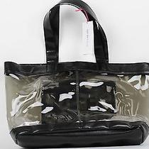 See by Chloe Pvc See Through Black Lizard Print Tote Bag Brand New With Tags Photo