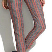 See by Chloe Striped Trousers. Cute Flattering and Trendy. Work Casual Photo
