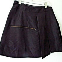 See by Chloe Sz 4 Silk Zipper Skirt Black Photo