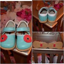 See Kai Run Natalia Aqua Mary Jane Shoes Size 7 Photo