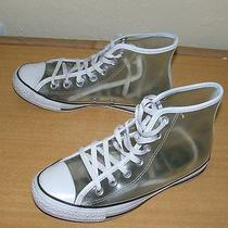See Through Converse All Star Unisex Mens 5  Womens 7 Sneakers High Top Clear  Photo