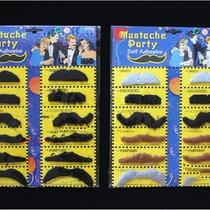 Self Adhesive 12pcs/lot  Stylish Costume Fancy Party Fake Mustache Moustache Hot Photo