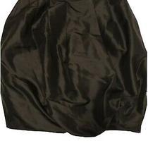 Senada Theory Black Silk Puff Skirt - Size 38/ Uk 10 Photo