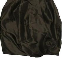 Senada Theory Black Silk Puff Skirt - Size 38/ Uk 10 Photo