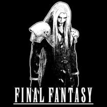 Sephiroth T-Shirt  Final Fantasy Playstation Video Game Shirt  Photo