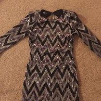 Sequin Bebe Dress Photo