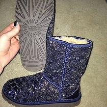 Sequin Navy Uggs Photo