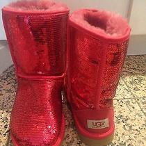 Sequin Ugg Boots Photo