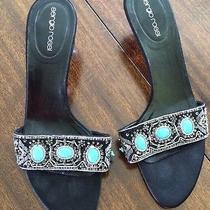 Sergio Rossi Jewelry  Stone Sandal Size 39 Photo
