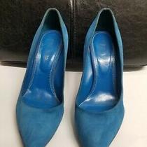 Sergio Rossi Size 38 Blue High Heels Photo