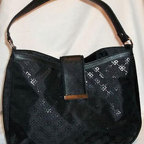 Serious Skin Care Black Front Flap Hobo Handbag Shoulder Bag Purse New and Cute Photo