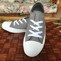 Serra Ladies Canvas Sneakers Gray - Never Worn  Size 8 M (Converse) Photo