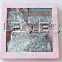 Set Light Blue Colors Jewelry Silk Mirror Bags Pouches Boxes Set T361a20 Photo
