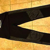 Set Lot Bebe Logo Top and Leggins Genuine Leather Size Xs and S Photo