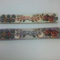 Set of 2 Ed Hardy Kids Leather Bracelet  Photo