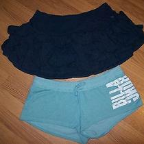 Set of 2 Fun Shorts & Miniskirts From Billabong & Abercrombie & Finch Photo