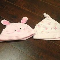 Set of 2 Infant Hats by Just One Year Photo