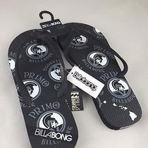 Set of 2 Primo Billabong Men's Black Flip Flops (Size 9) Photo