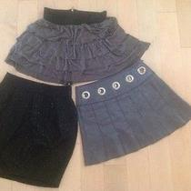 Set of 3 Great Mini Skirts Bebe and Other Photo