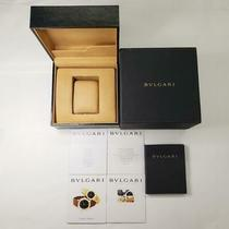 Settlement Bvlgari Watch Case Warranty/mini Booklet Included B03-9 68408 Photo