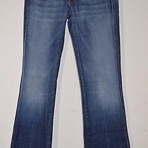 Seven 7 for All Mankind Jeans 28 a Pocket U130j055u Medum New York Light Blue Photo