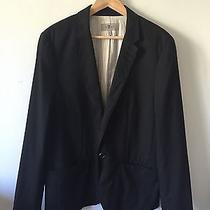 Seven for All Mankind- Single Button Pinstripe Blazer- Size Large- New W/o Tag Photo