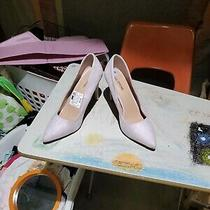 Sexy Blush Micro Suede Pumps Size 8 1/2 Photo