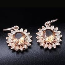 Sexy Design Hot Rose Gold Filled C.z Women Lady Dangle Earrings Jewelry Cz0200 Photo
