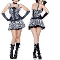 Sexy Fantasy Wild Thing Costume 10262 Small Only Zebra Pattern Dress Photo