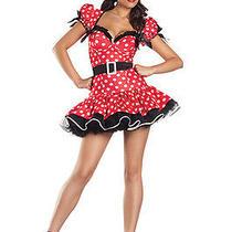 Sexy Flirty Mouse Adult New 3-Pc. Costume Charming Splendid Womens Clothing L/xl Photo