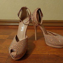 Sexy Jeffery Campbell Studs Heels Strappy Shoes Size 7.5 Photo