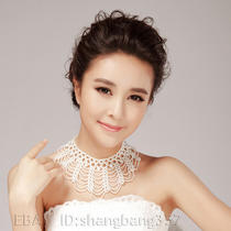 Sexy Korean Pure Imitation Pearls String Bridal Accessories Jewelry Necklace 007 Photo
