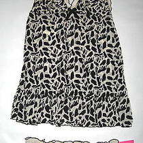 Sexy New Flocked Leopard Print Camisole Panties Set Lingerie by Blush Womens M Photo