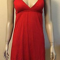 Sexy Red Bubble Hem Dress With Adjustable Straps Size Medium h&m Forever 21 Photo