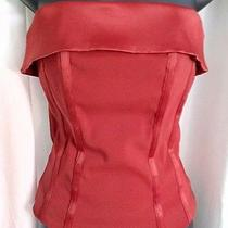 Sexy Red h&m Divided Corset Bustier sz.6 Valentines Day  Photo