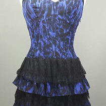 Sexy Shift Tiered Dress by Guess Size 1 Photo