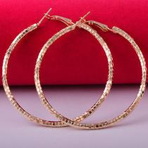 Sexy Style Hot Rose Gold Filled C.z Women Lady Dangle Earrings Jewelry Cz0137 Photo
