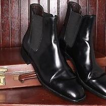 Sexy Tods Italy Made Leather Chelsea Boots Ankle Vibram Heel Patent Elastic 8 Photo