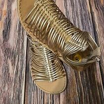 Seychelles Rose Gold Gladiator Sandals for Girls Size 3 Photo