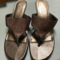 Seychelles Womens Heel Vintage 9.5  Sandal Rose Gold Bronze Photo