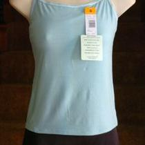 Shadowline Soft Touch Icy Morn Shelf Bra Cami Size Medium Photo
