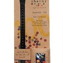 Shainsware Shains Choker/wrap Bracelet With 45 Elements Black Photo