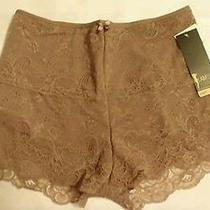 Shapewear I Am Yummie Womens Lace Tummy Slimming Boyshort Panty Xl Coffee Photo