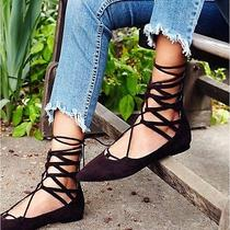 Shay Lace Up Flat Jeffrey Campbell Photo