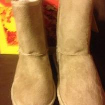 Sheepdawgs Microfiber Boots Kids Size 1/2 Natural Color Photo