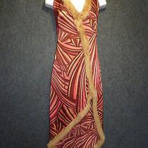 Sheri Bodell Rabbit Fur- Semi Long- Cocktail Dress Sz S   Photo