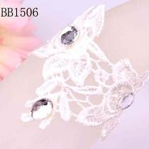 Shining Crystal Wedding/ Bridal Lace Popular Bracelet  for New Women Bb1506 Photo