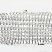 Shining Women Silver Clutch Party Purse Evening Wedding Handbag Rhinestone Bag Photo