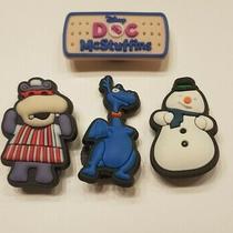 Shoe Charms for Crocs / Jibbitz Bracelet Disney Doc Mcstuffins Set 4 Pieces Photo