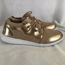Shoe Dazzle Sneakers Rose Gold Size 8 Photo